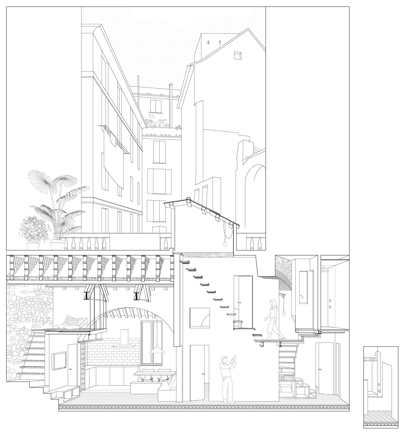045_sezione prospettica longitudinale
