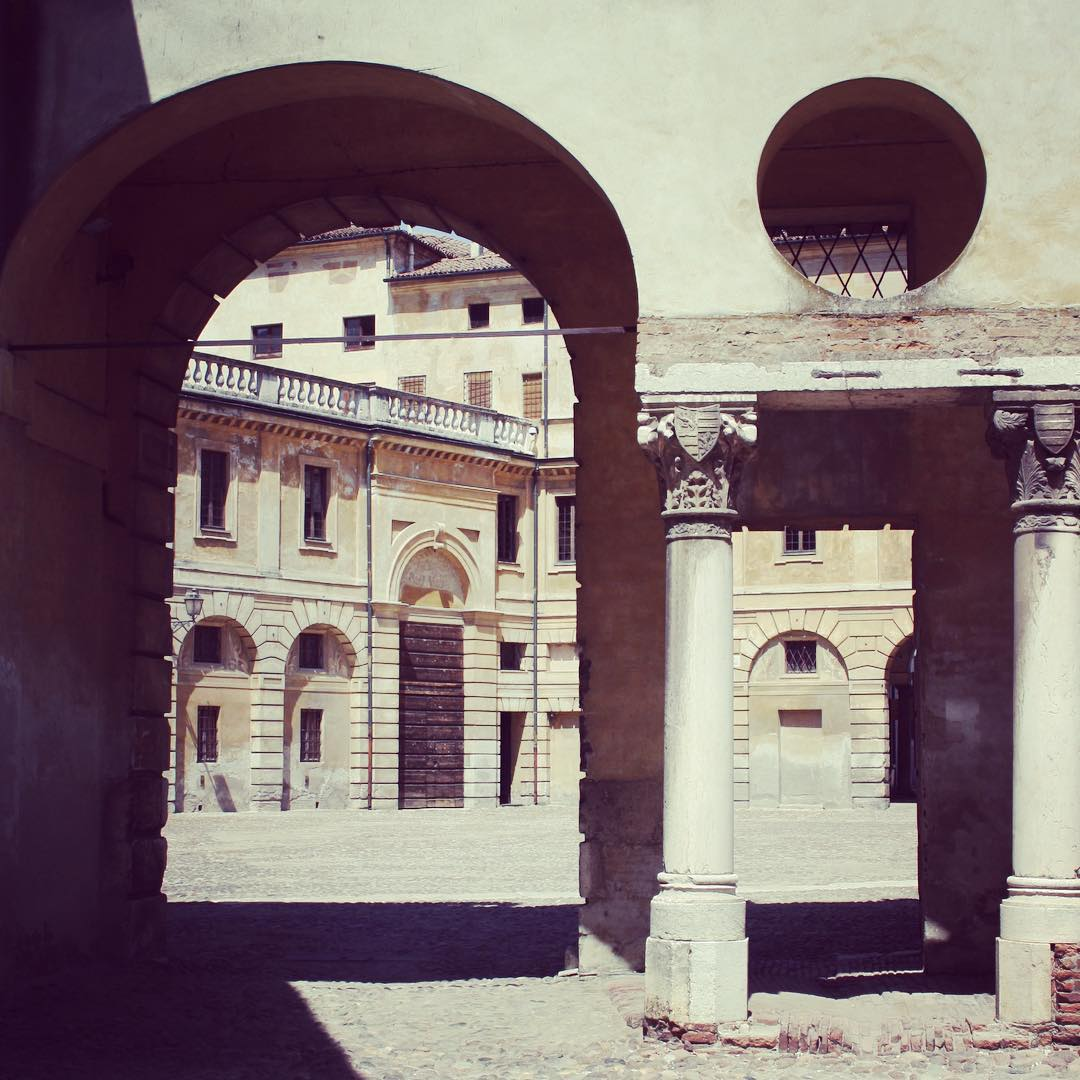 Mantova metafisica. Palazzo Ducale courtyards inspired our...