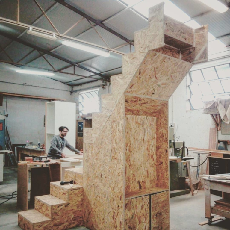 The osb monster! Stairs or dinosaur? Soon...