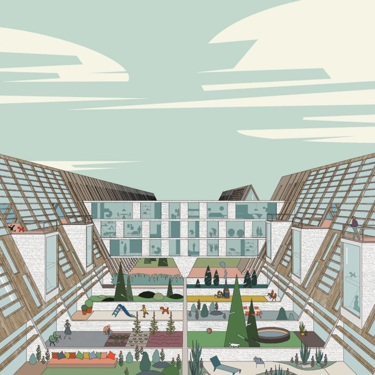 Our proposal for @europan_europe competition in Oulu,...