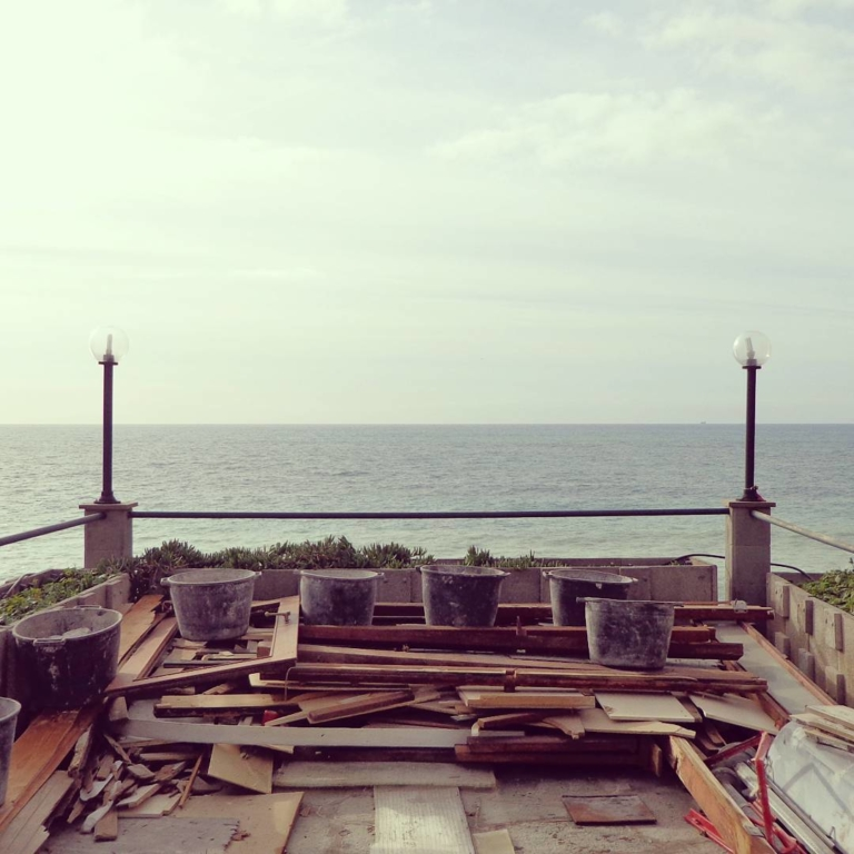 A building site with a view. #onsite...