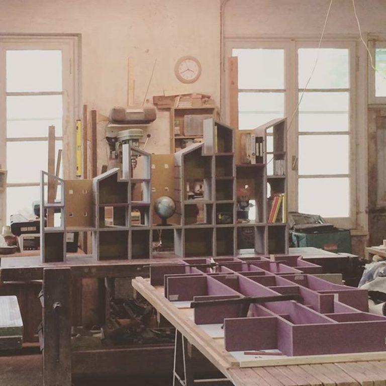 "Work in progress at carpenters workshop. ""La..."
